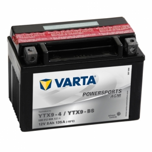 Аккумулятор YTX9-4 / YTX9-BS VARTA FUN (508012008A514)